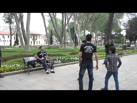 Dikiy Kavkaz Lezginka Group,turkey,istanbul video