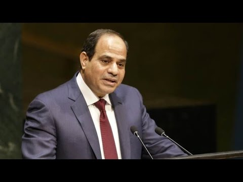 #تحيا_مصر   Egyptian President Abdel Fattah al Sisi speech in UN General Assembly