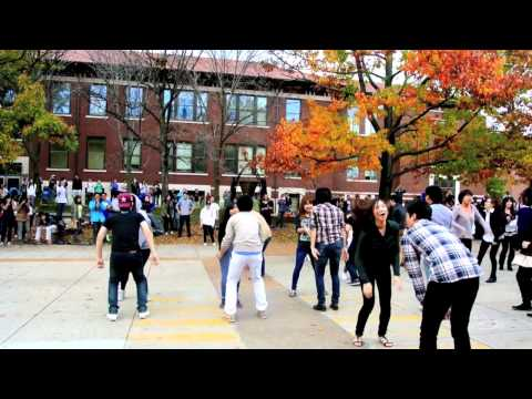 Purdue University Gangnam Style Flash Mob