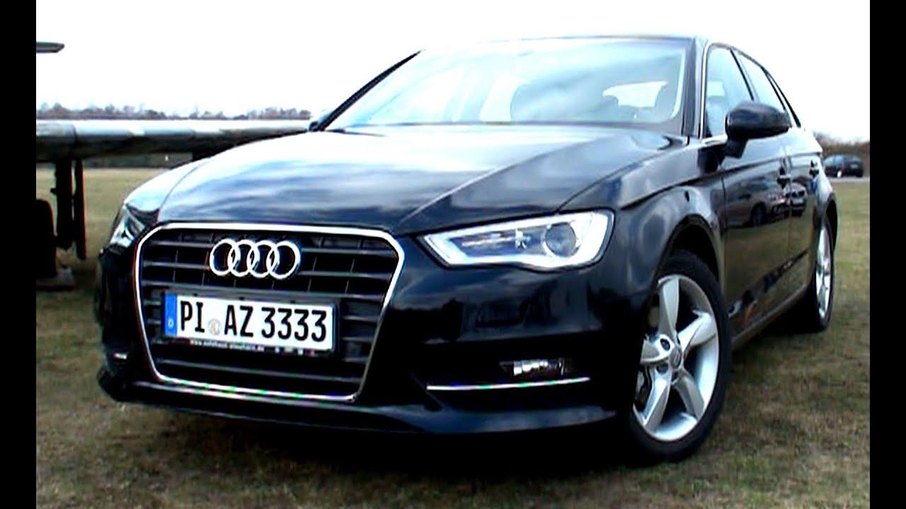 Testbericht AUDI A3 Sportback 2013 - Neu/New Roadtest Video Review - EngineReport - YouTube