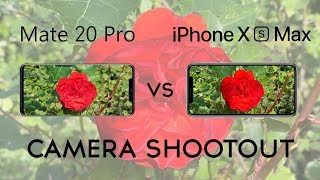 Huawei Mate 20 Pro vs iPhone Xs Max: Camera Shootout
