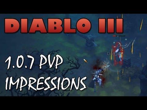 Diablo 3: 1.0.7 PTR PvP Duelling 1st Impressions - I'm Having a Blast!