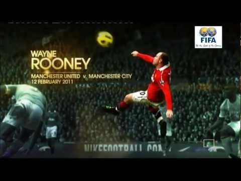 The 3 Best Goal Of The Year 2011 (Neymar, Rooney and Messi) HD