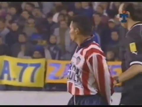 Octavos - Boca (4) - Junior (3) - Libertadores 2001