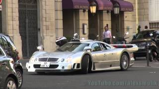 Mercedes CLK GTR in Paris