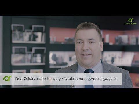 Leitz-Hungaria interjú - ShopRenter.hu