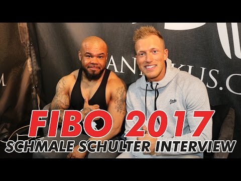 FIBO 2017 Schmale Schulter - Polizist Sein, Rocka Nutrition, eigenes eBook
