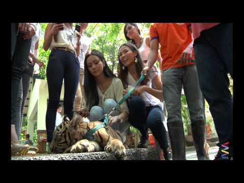 Miss Manila 2014: Trip To Manila Zoo video