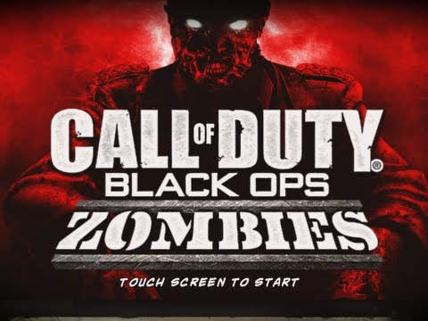 Call of Duty: Black Ops Zombies App Review iPhone/iPod/iPad Part 1