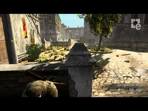 Sniper Elite V2: Gameplay demo PC