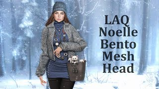 LAQ Noelle Bento Mesh Head & LAQ v3.06 Main HUD Update in Second Life