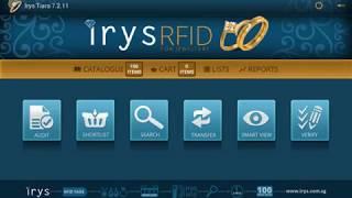 Jewelry Tracking and Secure Database Irys Tiara Stock Audit