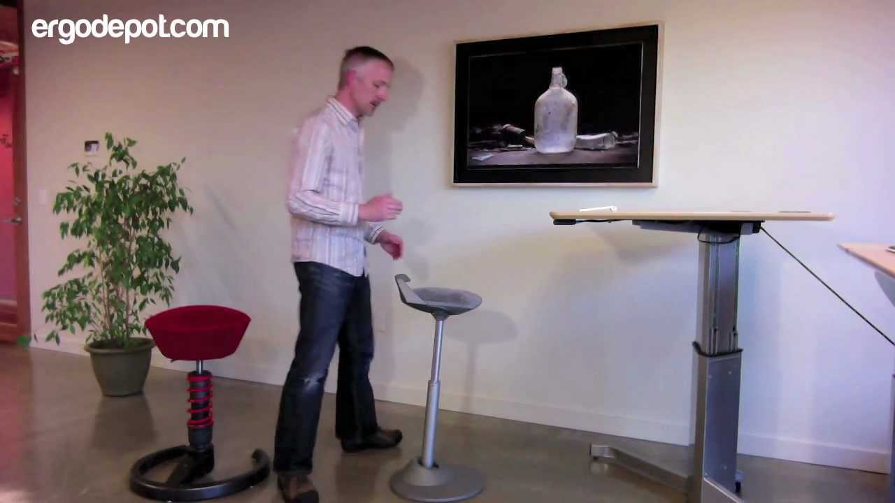 Muvman Sit Stand Chair Youtube