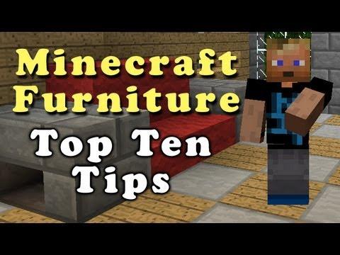 Minecraft Furniture Top 10 Tips