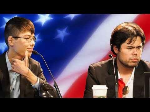 2012 U.S. Chess Championship: Hikaru Nakamura vs. Ray Robson - King Walk