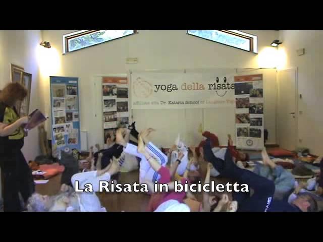Le nuove Risate sulle QUATTRO STAGIONI, dal primo teacher training di Laura Toffolo, Giugno 2013