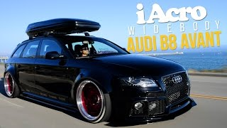 iAcrophobia WideBody Audi B8 Avant | AccuAir B8 Sport Kit