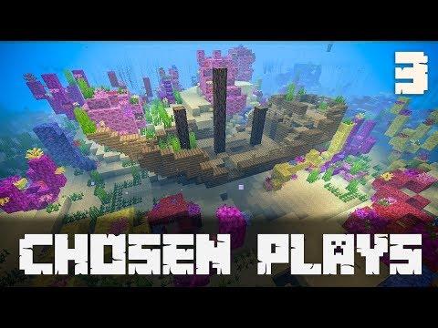 Chosen Plays Minecraft 1.13 Ep. 3 Buried Treasure Map