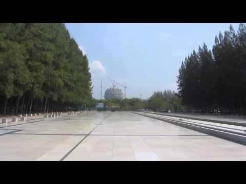 A Tour around Wat Dhammakaya – The World's Biggest Temple outside Bangkok , Thailand