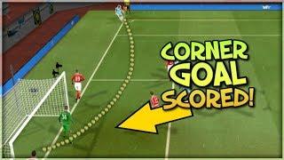 I Scored Directly From A Corner Kick!!! : Dream League Soccer 2018 : Corner Goal Challenge Part 2