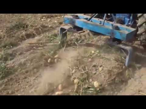 Картофелесажалка на трактор своими руками