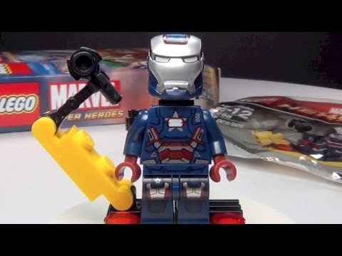 LEGO Iron Patriot 30168 Marvel Super Heroes Preorder Promo Review