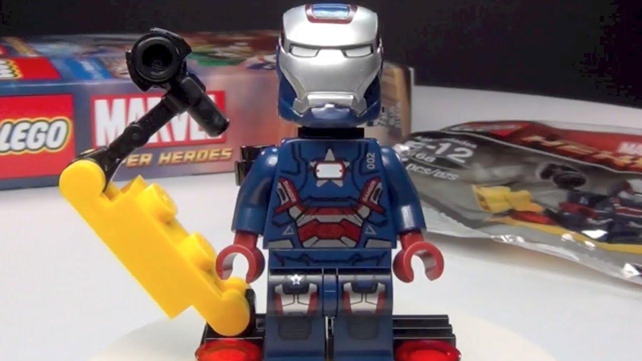 Iron Patriot Lego Lego Iron Patriot 30168 Marvel