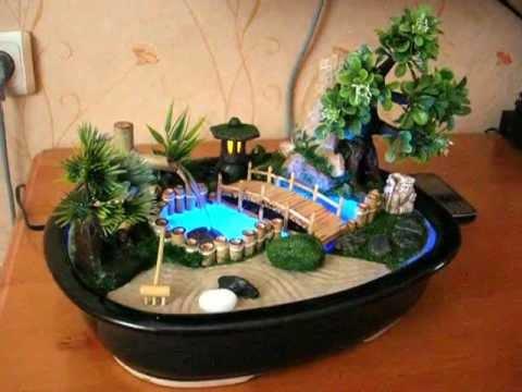 Декоративный фонтан для дома своими руками