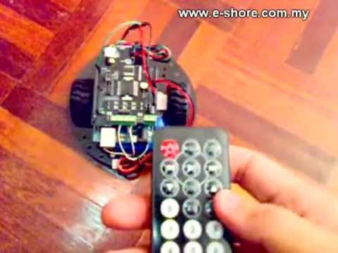 Create an Android Controlled Robot Using the Arduino