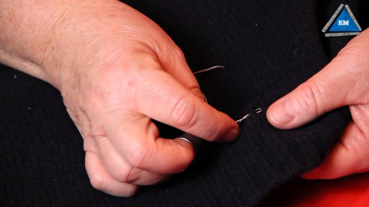 Как сделать шлевки на брюках из ниток