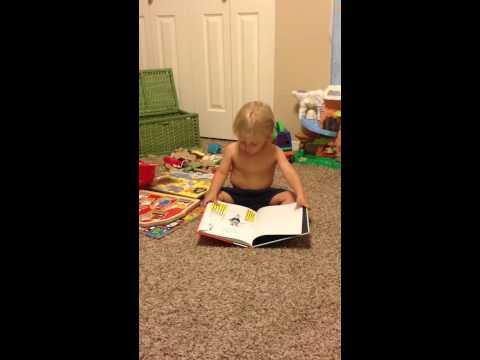 Lukas read Dr. Seuss