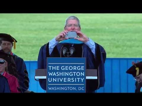 GW Commencement 2015: Apple CEO Tim Cook