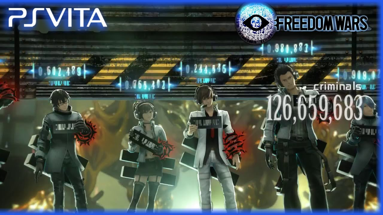 Freedom Wars ps Vita ps Vita Freedom Wars