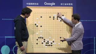 The Future of Go Summit: AlphaGo & Ke Jie match 2 moves analysis