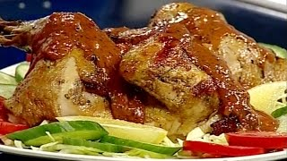 Ashpazi - Oven Chicken with Salad -