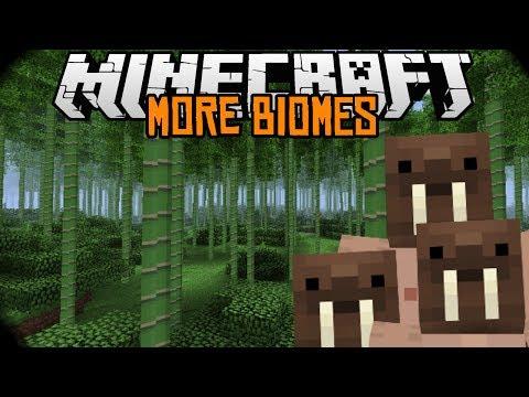 Minecraft mody 1.7.2 #73 MORE BIOMES 100 NOWYCH BIOMÓW I WIOSEK