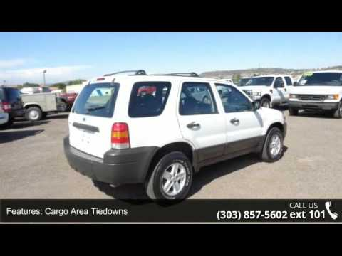 2007 Ford Escape XLS Popular 4WD - Central Autos - Castle...