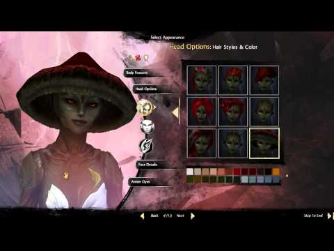 SYLVARI: Character Creation (Guild Wars 2, GW2)