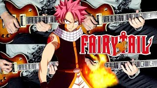 FAIRY TAIL Main Theme guitar cover