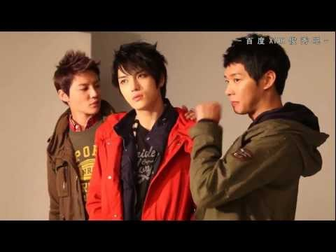 2012 NII Autumn Making Film with JYJ[KO_CN]