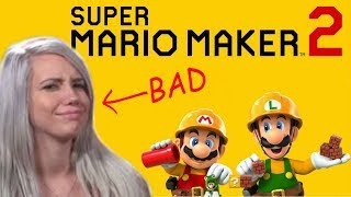 Super Mario Maker 2: HARD AF LEVELS [rage montage]