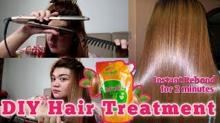 DIY HAIR TREATMENT ❤️ BREMOD PERM KERATIN HAIR TREATMENT VLOG#42
