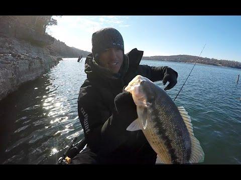 Winter Bass Fishing Tips for Ledges