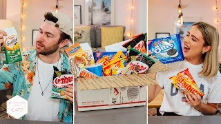 Could this be the best American candy box we've tried? Taste test! - In The Kitchen With Kate
