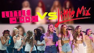 Little Mix VS Little Mix (Then VS Now) Same Songs