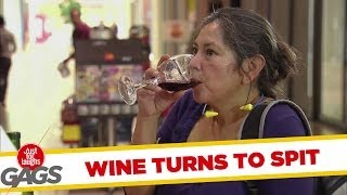 Turning Wine Into Spit