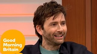 David Tennant On Marvel, Doctor Who, Broadchurch And Panto | Good Morning Britain