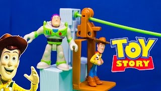 Unboxing the Toy Story Woody and Buzz Sunnyside Breakout Playset
