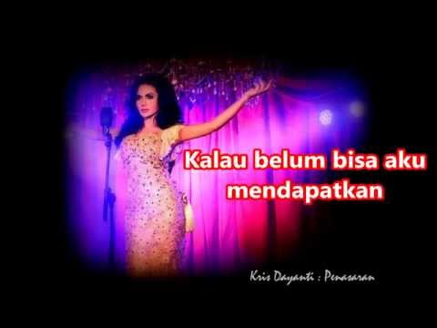 """Krisdayanti - PENASARAN - """" Dangdut """" (With Lyrics) HD"""