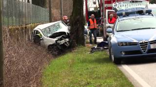video Incidente mortale a Colfosco - Notizie online del Quartier del Piave e Vallata del Soligo.